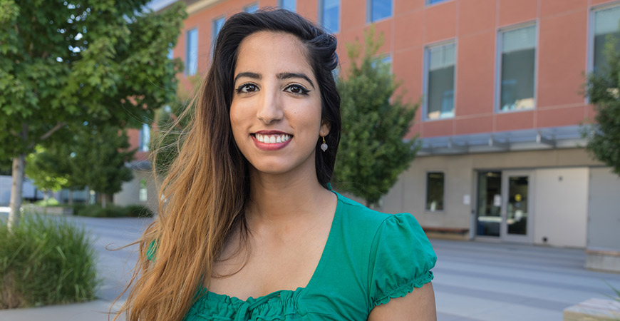 Jaapna Dhillon is UC Merced's first postdoctoral researcher to receive a Pathway to Independence Award from the National Instit